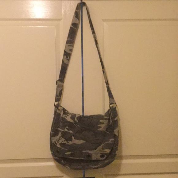 Old Navy Handbags - Camouflage messenger bag